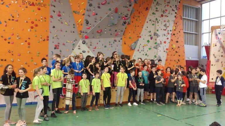Podium du challenge de l'Essonne